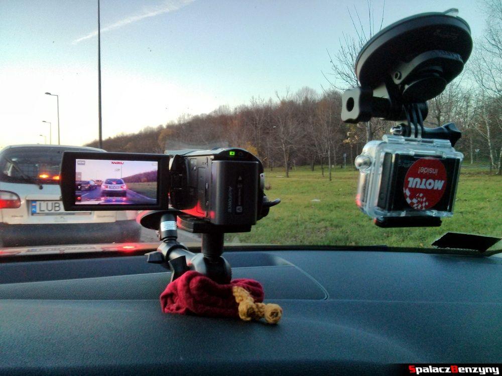 Mocowanie kamery Sony i GoPro3