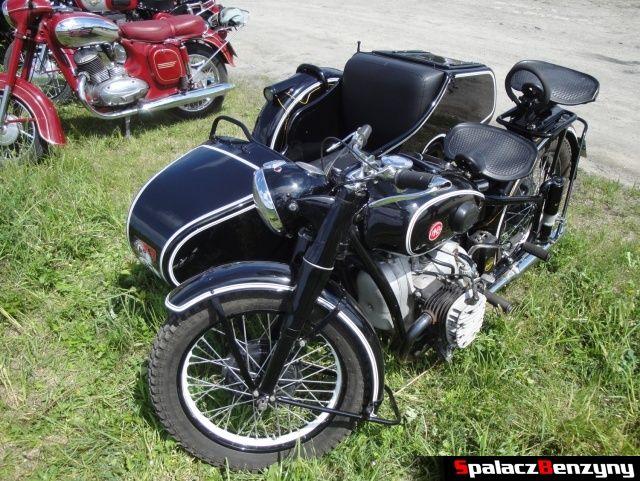 Motocykl HM3 z gondolą na Super Veteran 2012 w Lublinie
