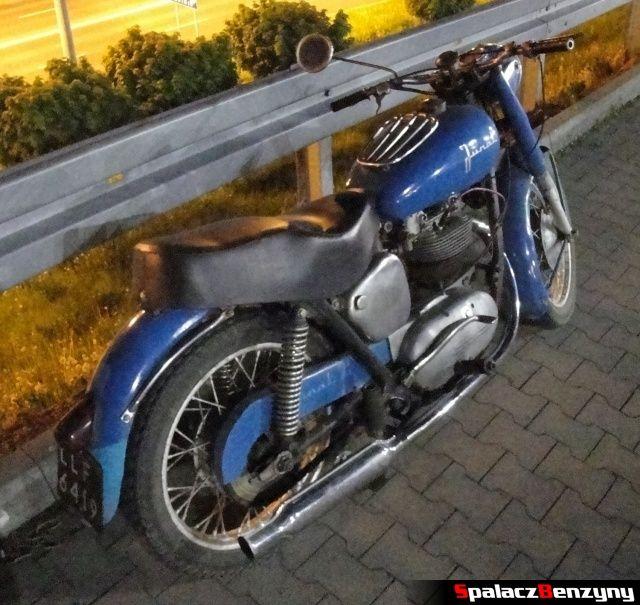 Motocykl Junak podczas Lubelskie Klasyki Noc�