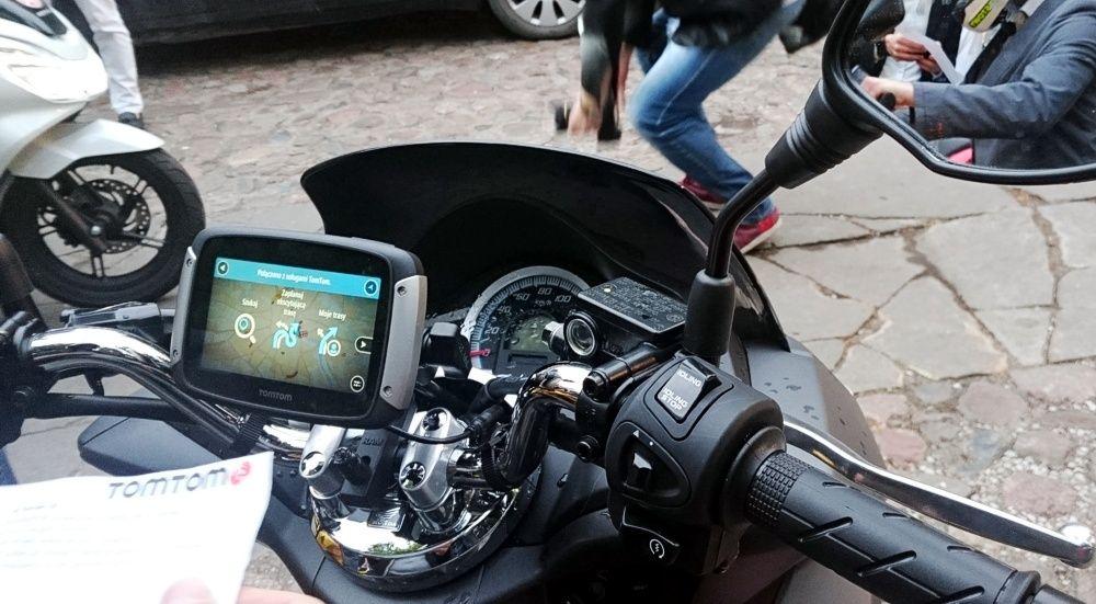 Nawigacja motocyklowa TomTom