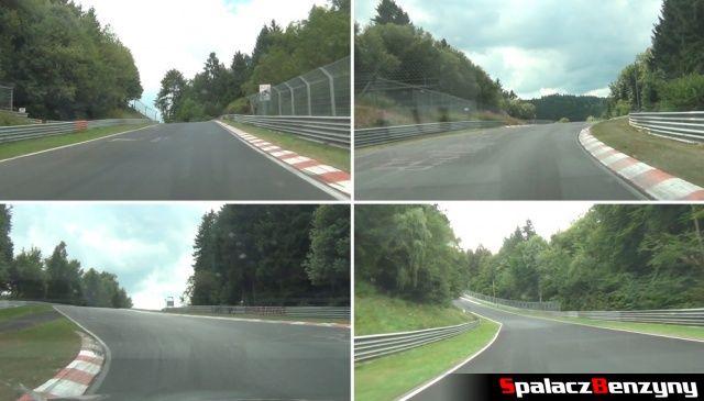 Niewidoczne zakręty na Nurburgring Nordschleife