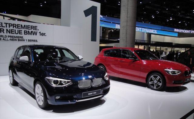 Nowe BMW serii 1 sport i urban we Frankfurcie 2011