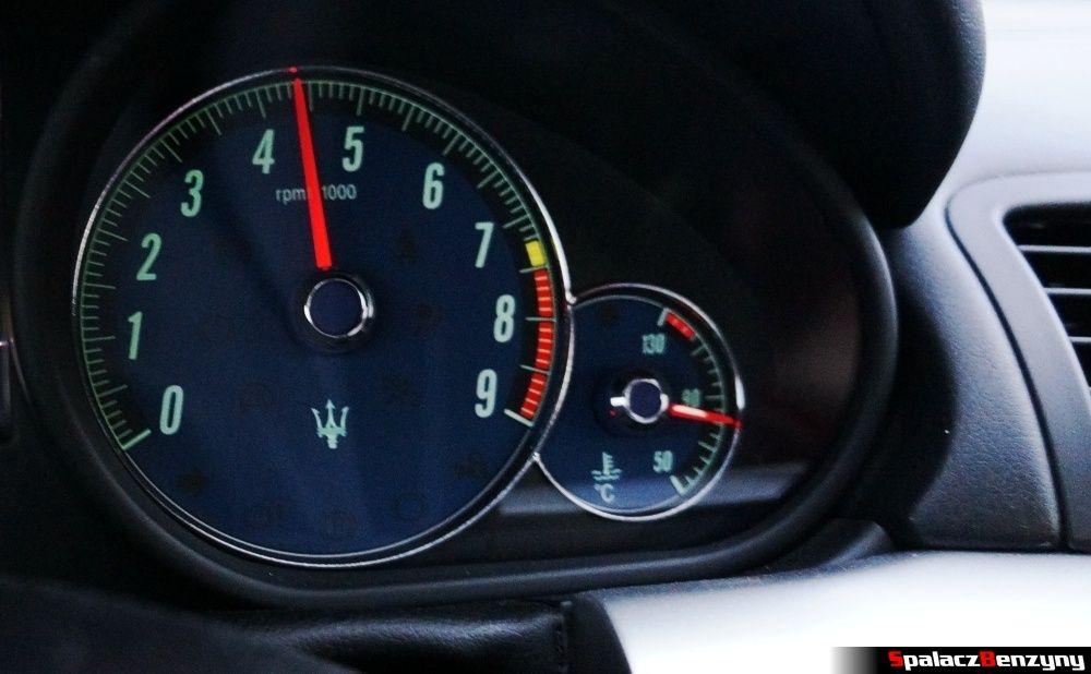 Obrotomierz 4 tys. obrotów Maserati GranTurismo