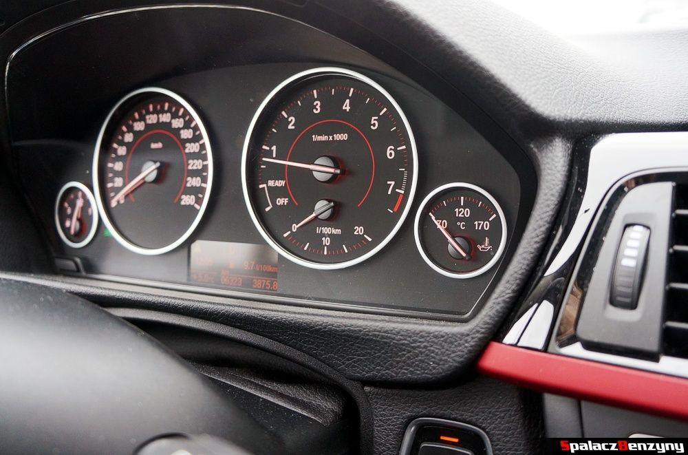 Obrotomierz BMW 316i 2013