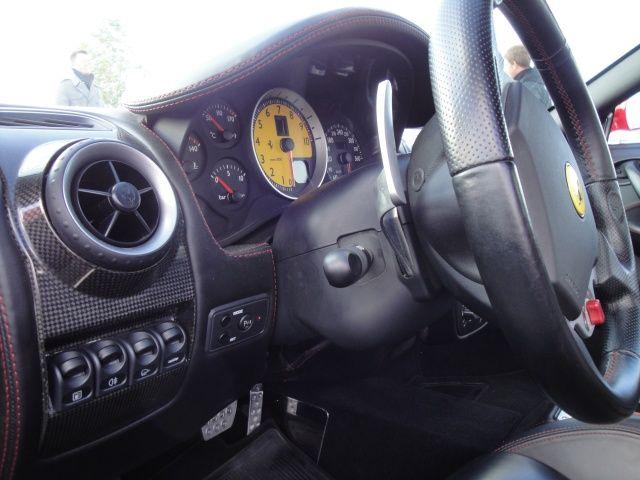 Obrotomierz w Ferrari F430