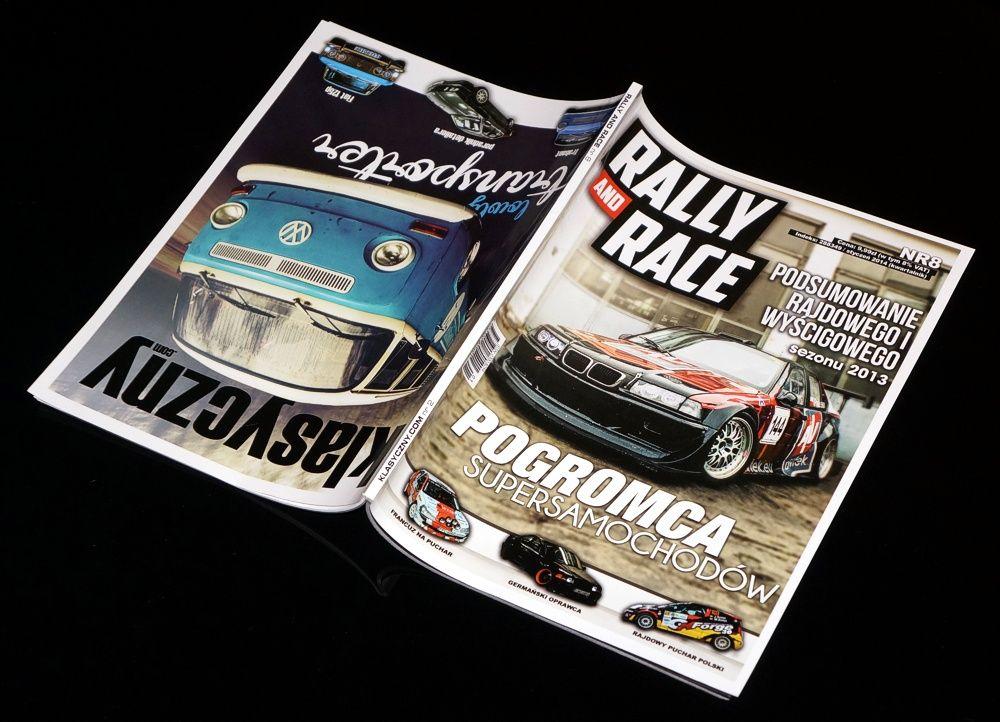 Okładka Rally nad Race nr 8