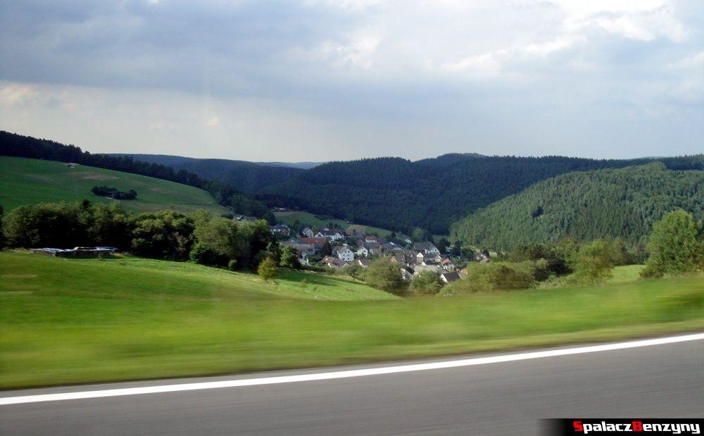 Okolice Północnej Pętli Nurburgringu
