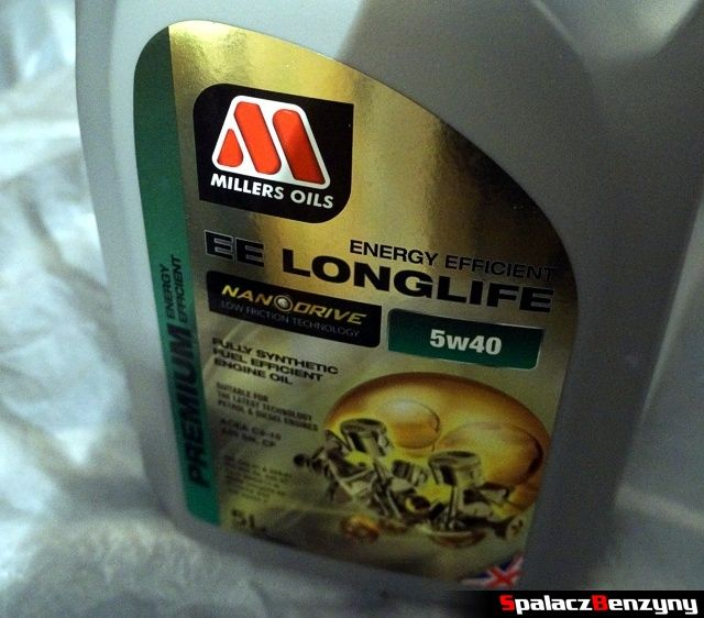 Olej Millers Oils EE Longlife 5w40 Nanodrive 5 litrów