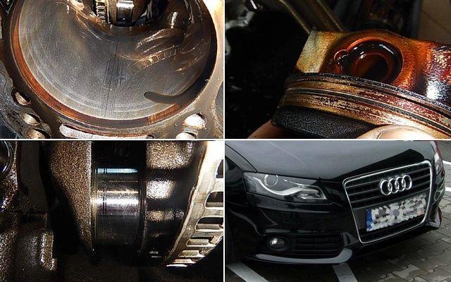 Olejowe perypetie Audi A4 B8 kombi czarne