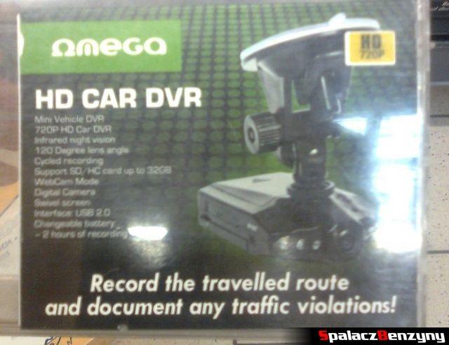 Omega HD CAR DVR 720p opakowanie 1