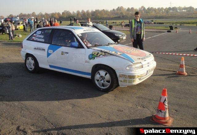 Ople Astra rally na Rally Sprint Cemex 2012 w Lublinie