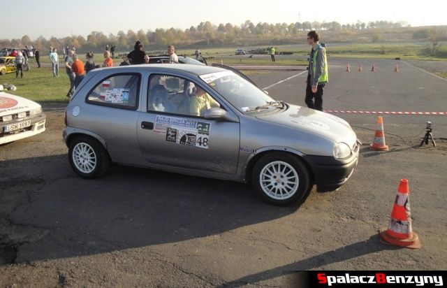 Ople Corsa srebrny na Rally Sprint Cemex 2012 w Lublinie