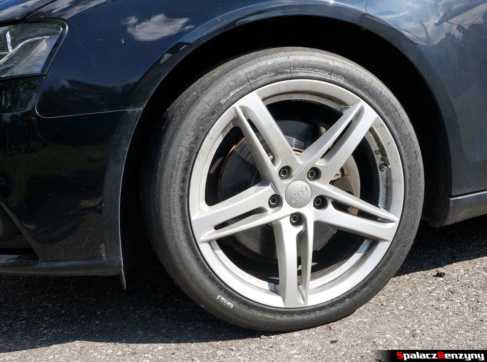 Opona Audi A4 na 8. runda SuperOES Tor Kielce 2014