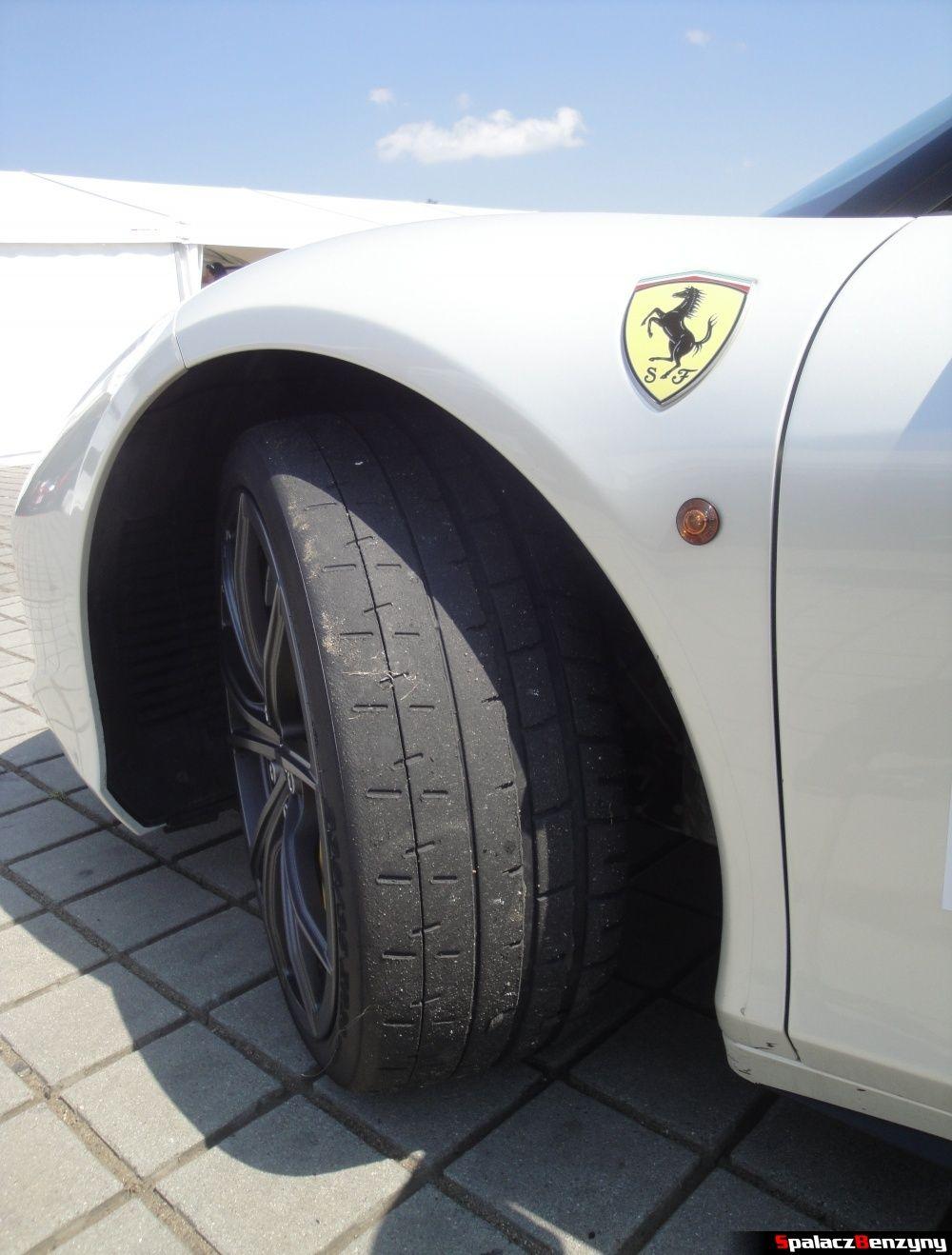 Opona Michelin Pilot Sport Cup plus Ferrari 458 Italia na Gran Turismo Polonia 2013