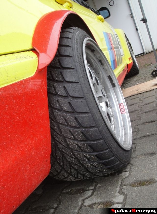 Opony deszczowe BMW M3 wyścigowe z klatką na TPTD 25 maj 2013
