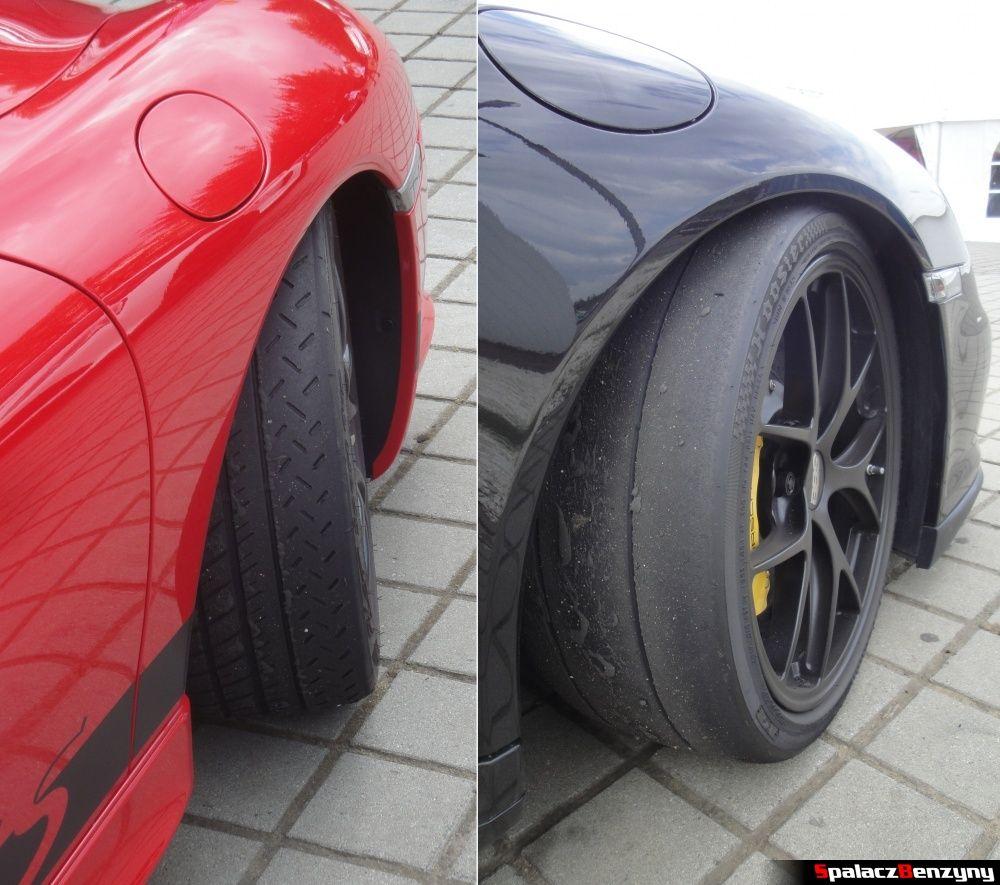 Opony Michelin i Hoosier na Porsche na Gran Turismo Polonia 2013