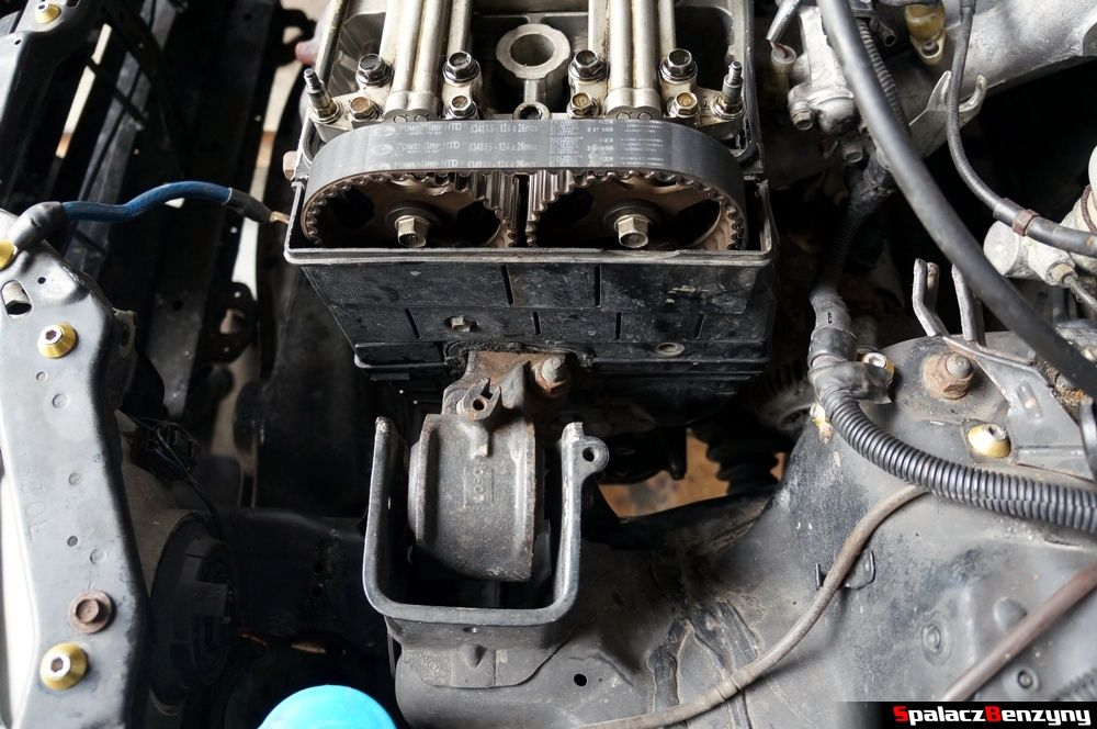 Osłona rozrządu w Honda Civic
