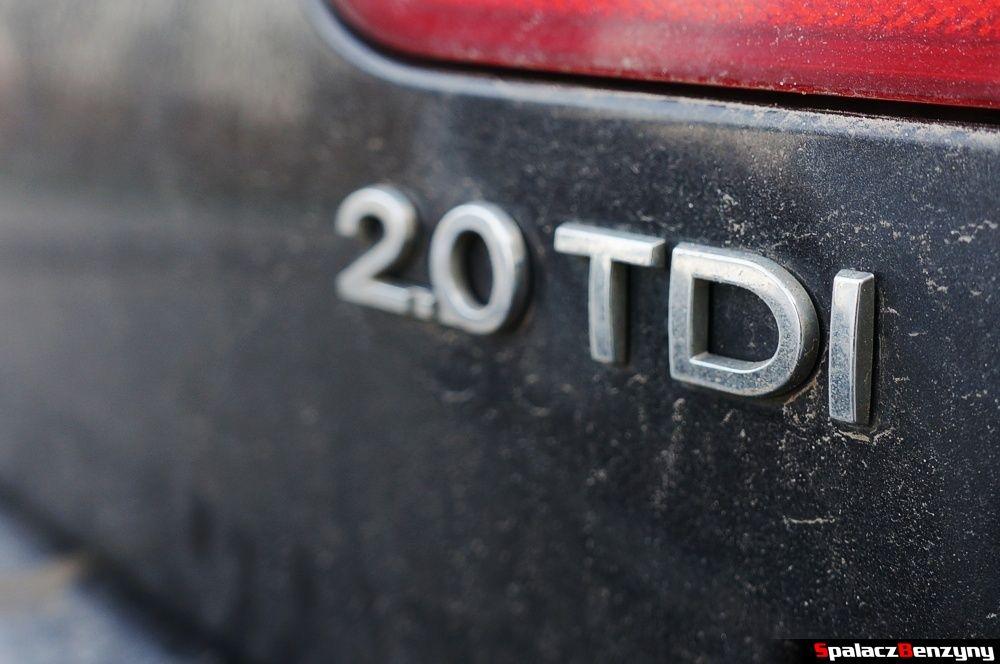 Oznaczenie silnika 2.0 TDI