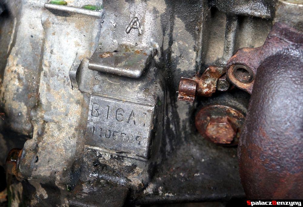 Oznaczenie silnika w Honda Civic