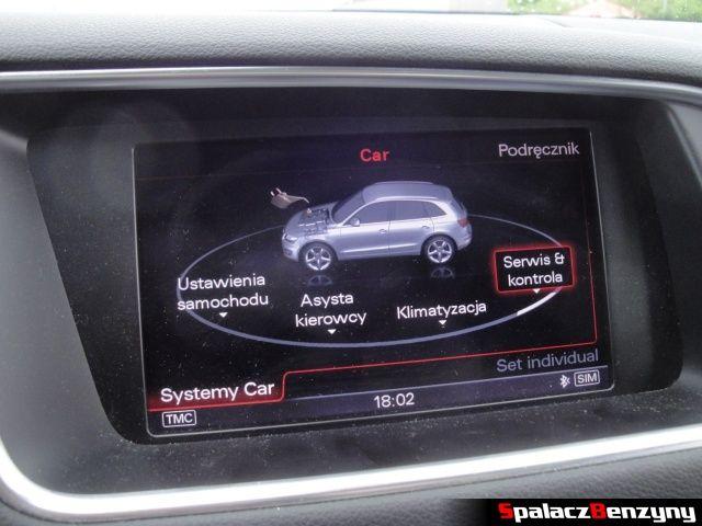 Panel MMI w Audi Q5