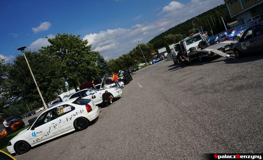 Parking 8. runda SuperOES Tor Kielce 2014