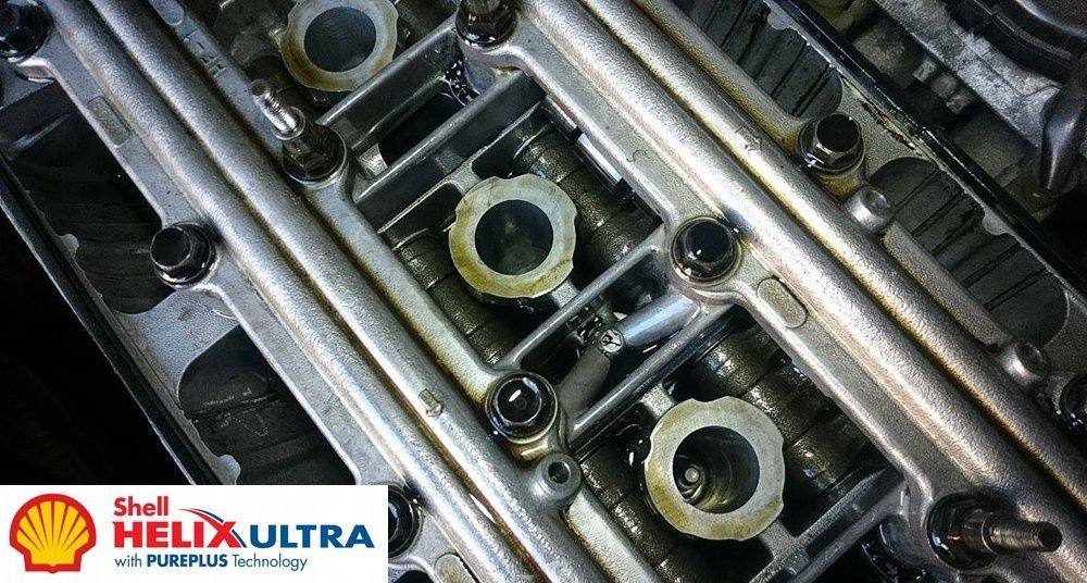 Po testowej zmianie oleju na Shell Helix Ultra