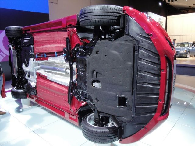 Podwozie Ford Focus na targach Frankfurt 2011