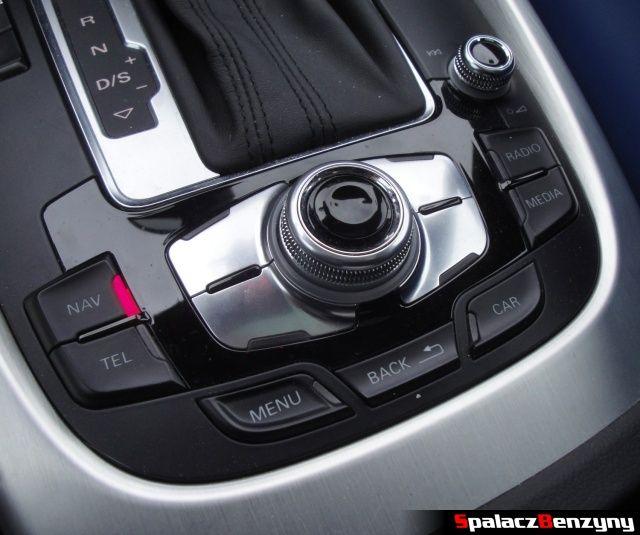 Pokrętło sterujące MMI w Audi Q5