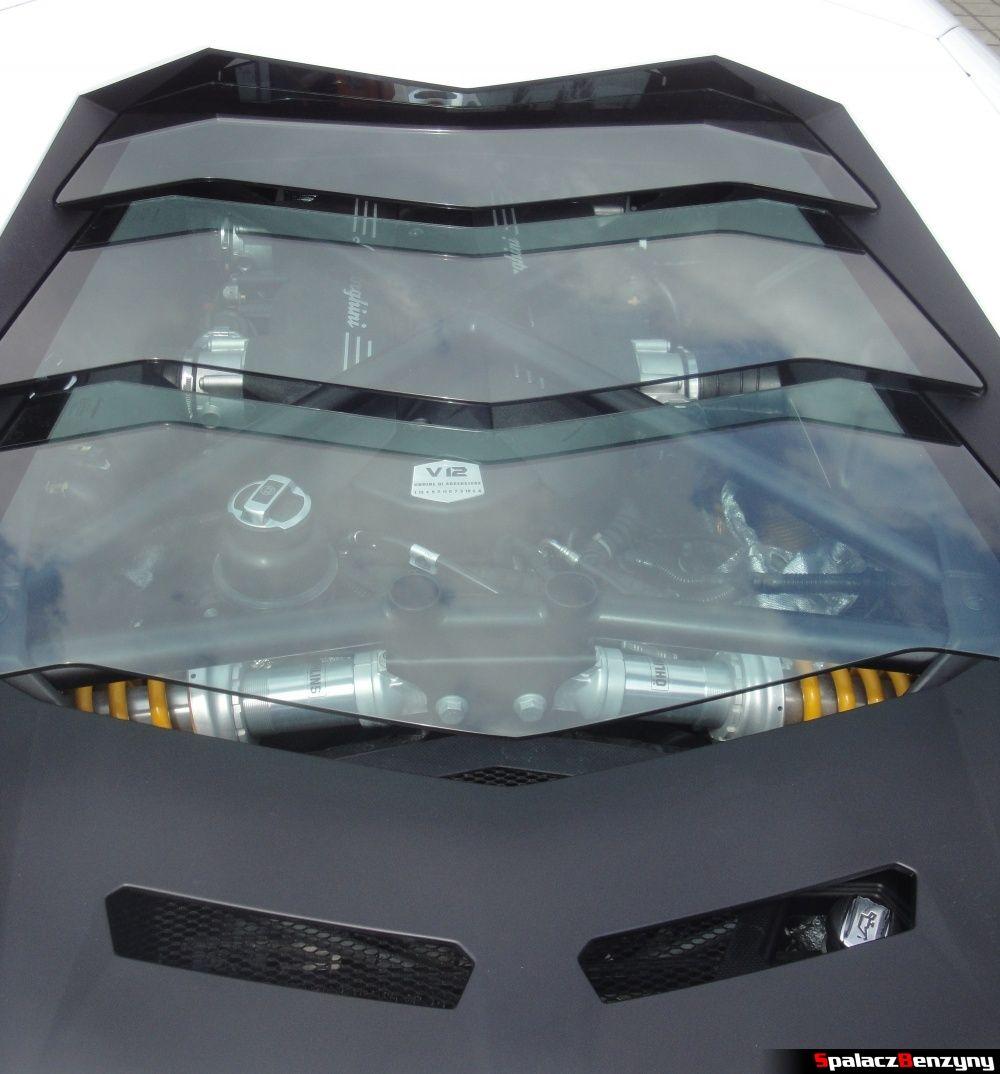 Pokrywa silnika Lamborghini Aventador na Gran Turismo Polonia 2013