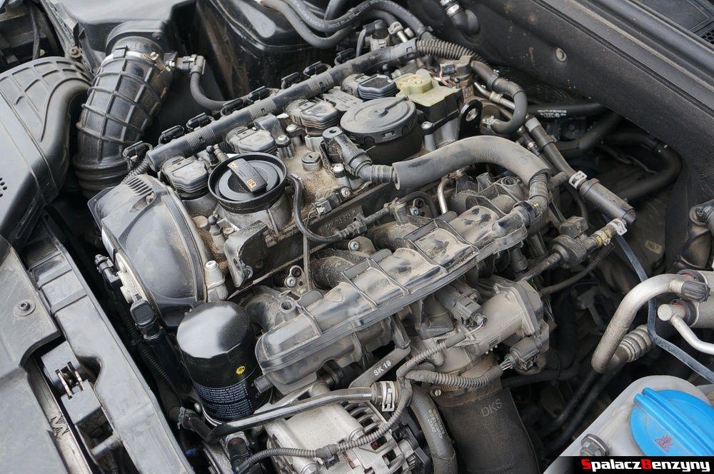 Położenie silnika 2.0 TFSI Audi A4 B8