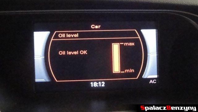 Pomiar oleju MMI 10 km po Stage 1 na ciepło