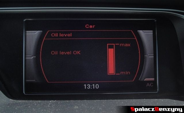 Pomiar oleju MMI 4000 km po Stage 1 po dolewce na ciepło