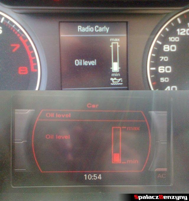 Pomiar oleju MMI 4000 km po wymianie oleju na Millers 5w40