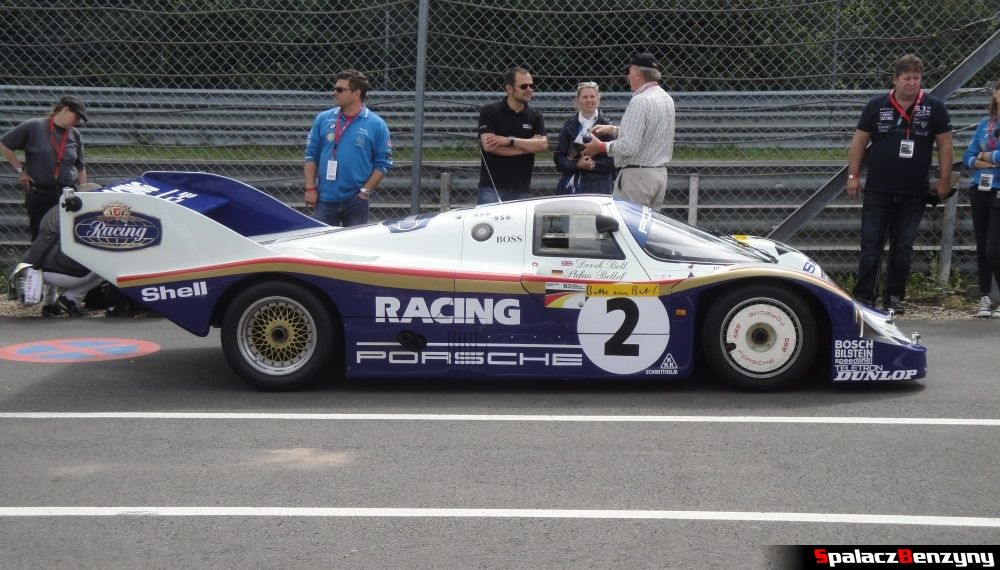 Porsche 956 bok na Nurburgring Nordschleife