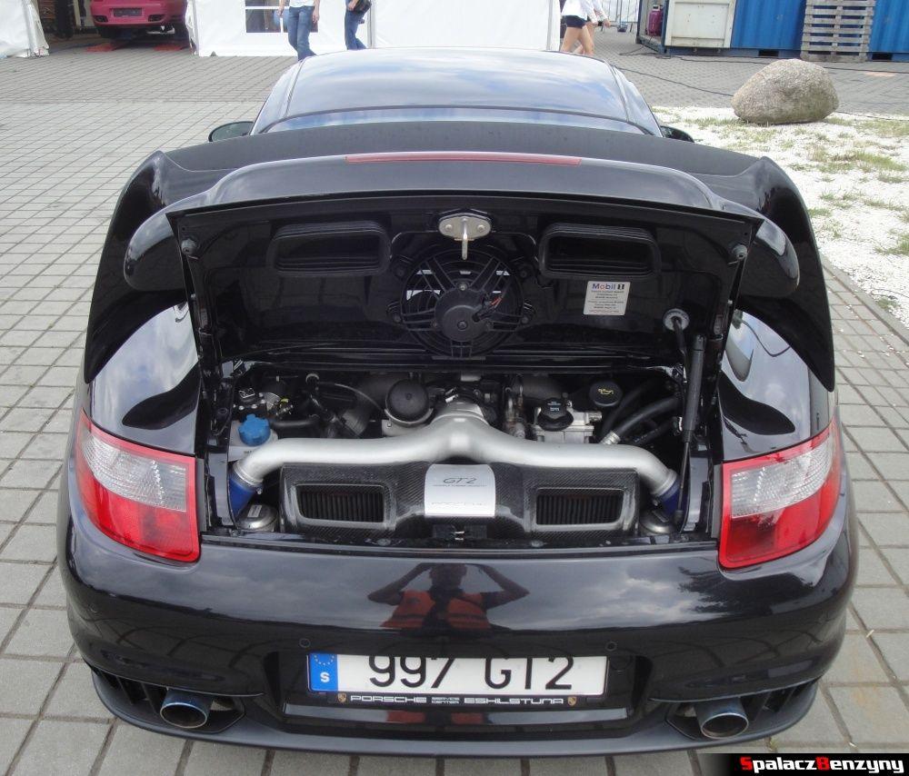 Porsche 997 GT2 na torze w Poznaniu na Gran Turismo Polonia 2013