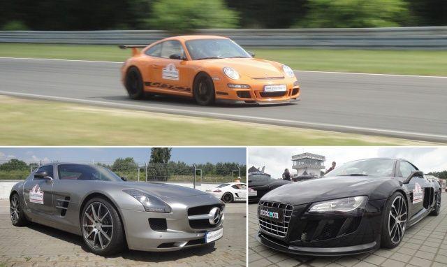 Porsche, Audi i Mercedes na Gran Turismo Polonia 2013