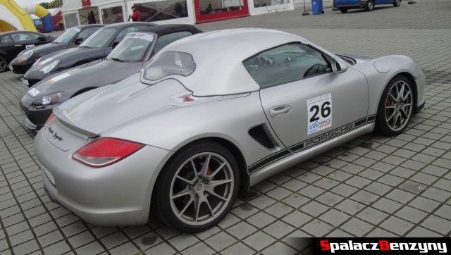 Porsche Boxster Spider na TPTD 25 maj 2013