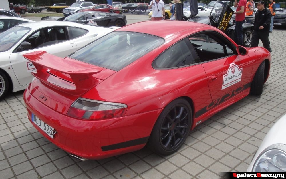 Porsche GT3 CS na Gran Turismo Polonia 2013