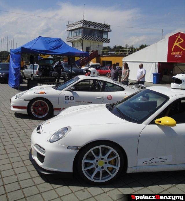 Porsche na Torze w Poznaniu na TPTD 16 czerwiec 2012
