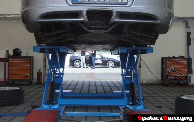 Porsche w serwisie na Gran Turismo Polonia 2013