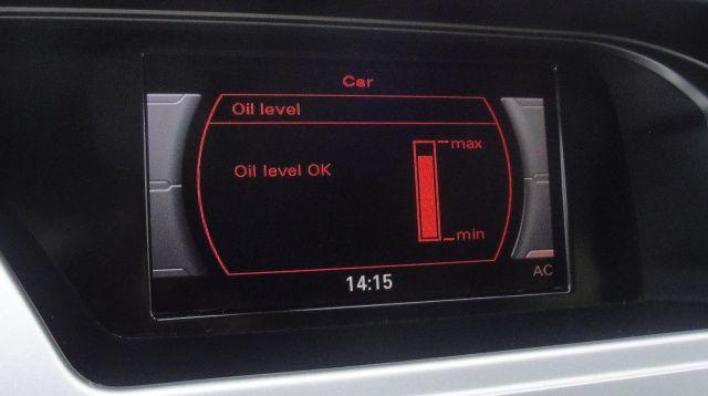 Poziom oleju w Audi