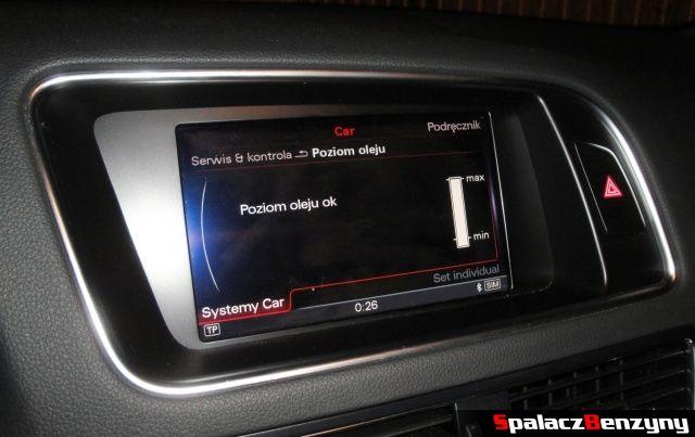 Poziom oleju w Audi Q5 3.0 TFSI