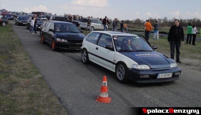 Przed startem na Rally Sprint Kulka 2012 w Lublinie