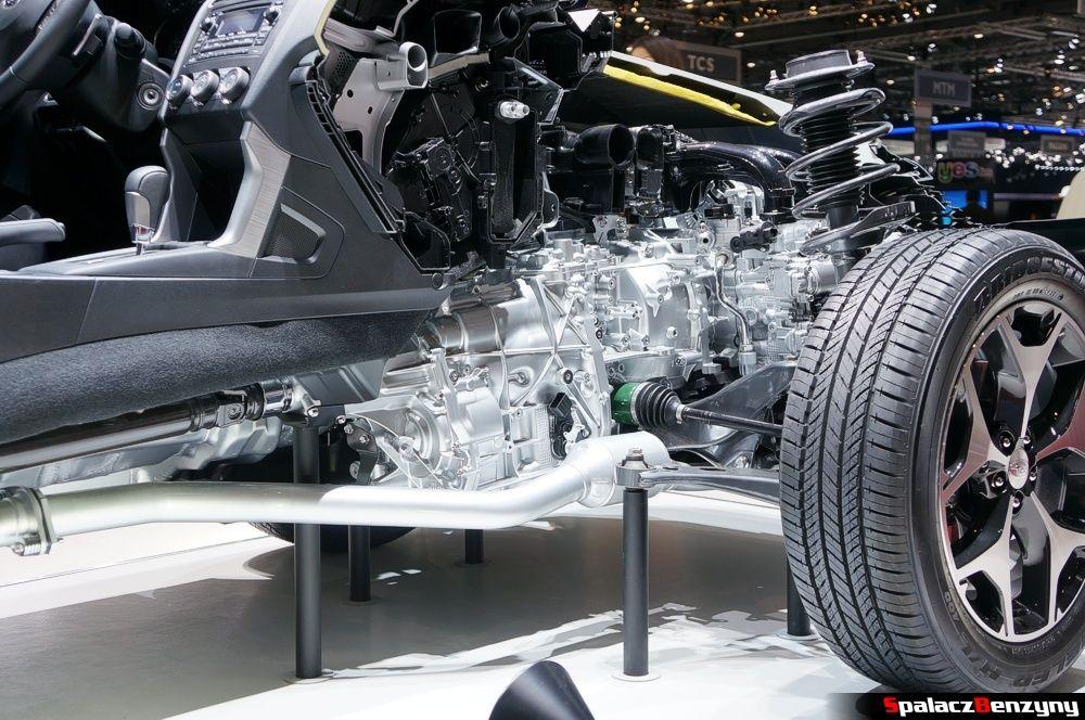 Przekrój model Subaru na Genewa 2014