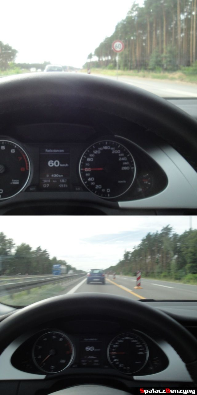 Przepisowa jazda na niemieckiej autostradzie