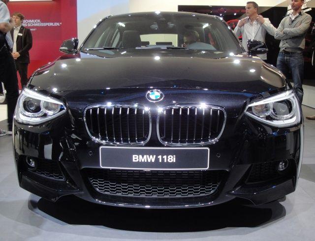 Przód nowego BMW 118i