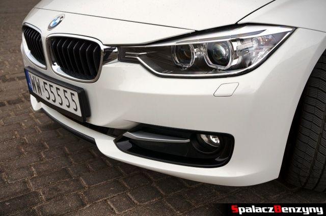 Przód nowego BMW 316i 2013
