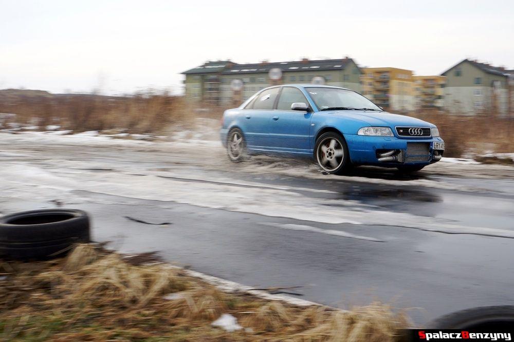 Przyspieszanie Audi S4 na Rally Sprint 9 luty 2014