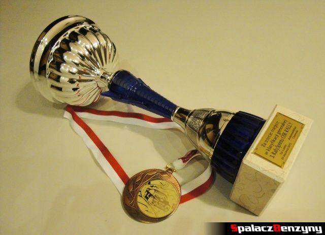 Puchar i medal za 3 miejsce na RS Rally na Torze w Lublinie 2013
