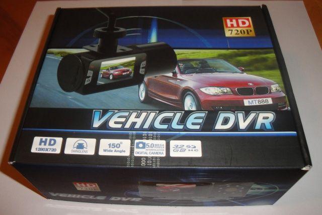 Pudełko rejestratora trasy Vehicle DVR